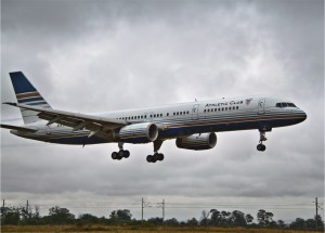 B752 Privilege landing