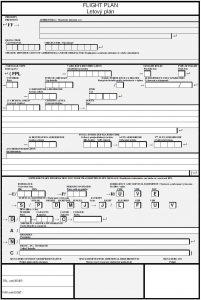 FPL formulár © Airliners.sk