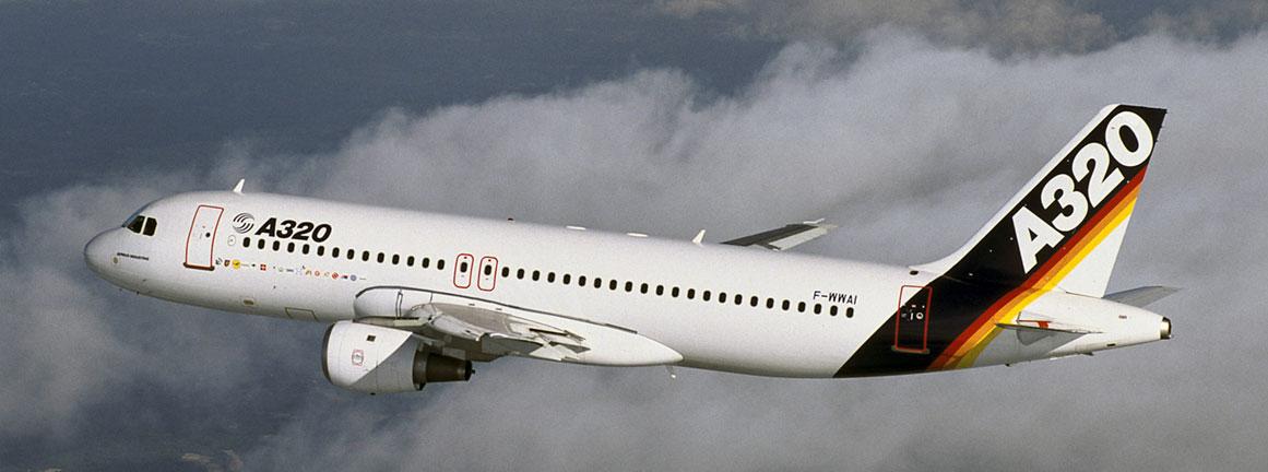 Prvý let Airbusu A320