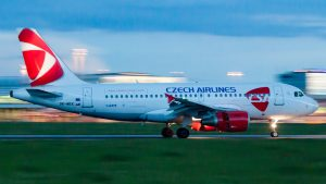 Airbus A319 OK-MEK