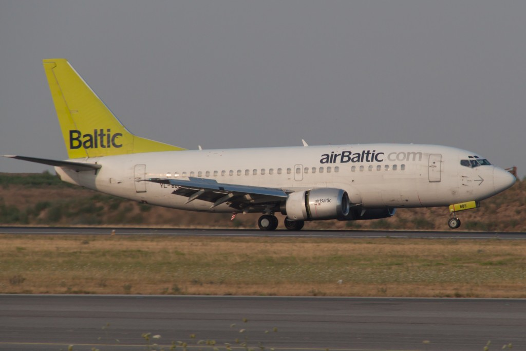 Air Baltic Boeing
