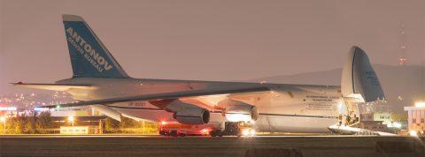 AN-124 v BTS