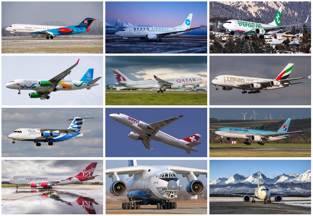 Kalendár Airliners.sk na rok 2018