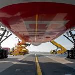 Hlavný podvozok Boeing 777-300ER Emirates