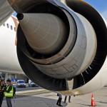Motor GE90-115BL1 lietadla Boeing 777-300ER Emirates