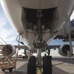 Predný podvozok Boeingu 777-300ER Emirates
