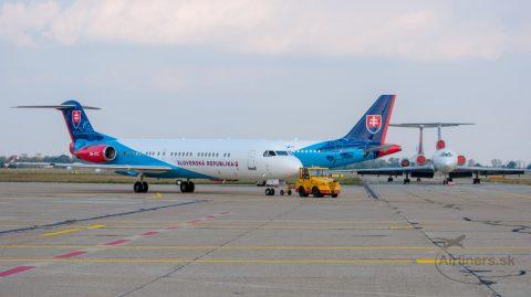 Prírastok vládnej letky – Fokker 100 OM-BYC