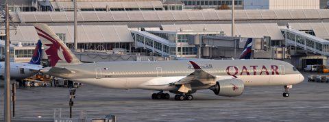 500 kilometrov za Airbusom A350 Qatar