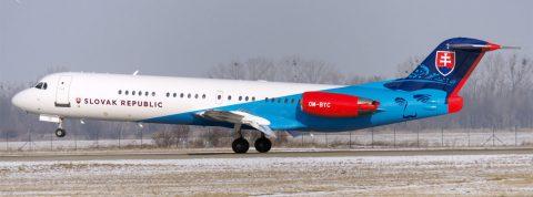 Fokker OM-BYB v nových farbách