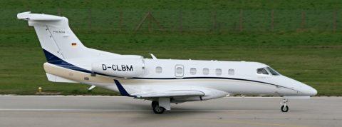 Embraer Phenom-300 v Žiline