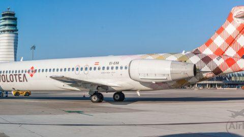 Letecká spoločnosť Volotea vo Viedni