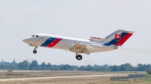 Posledný Yak 40 opustil Letku MVSR