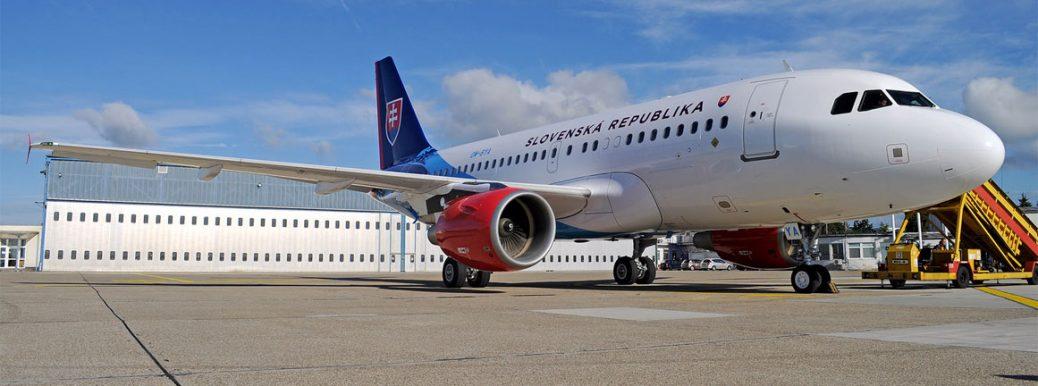 Airbus A319 OM-BYA