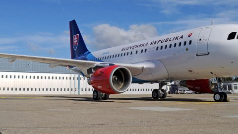 Predstavenie Airbus A319