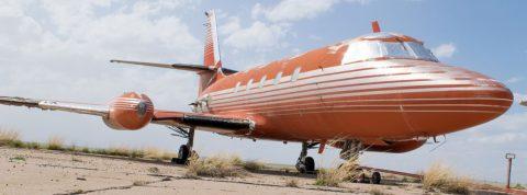 Kúpili by ste si lietadlo v ktorom lietal Elvis?