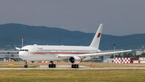 Boeing 767-400 prvýkrát v Bratislave