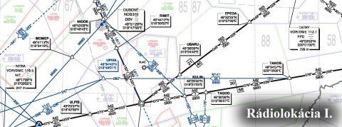 Techniky prehľadovej rádiolokácie lietadiel vo vzdušnom priestore I.