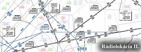 Techniky prehľadovej rádiolokácie lietadiel vo vzdušnom priestore II.
