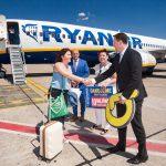 Pani Veronika Mináriková sa stala 10.000.000 cestujúcou, ktorú prepravil Ryanair z Bratislavy
