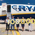 Ryanair prepravil už 10.000.000 cestujúcich z Bratislavy