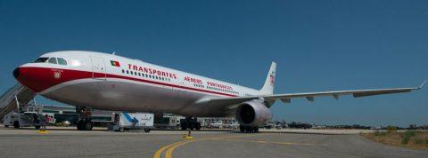 Portugalský TAP oslávil 72 rokov špeciálnym retro letom