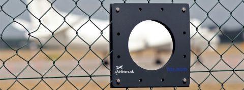Na letisku v Bratislave pribudli priezory pre ľahšie fotografovanie lietadiel