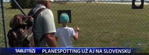 TABLET TV – Bratislavské letisko prelomilo rekord a zavádza planespotting