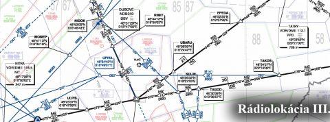 Techniky prehľadovej rádiolokácie lietadiel vo vzdušnom priestore III.