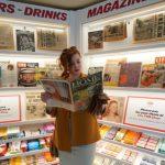 Historická predajňa novinovej tlače (c)TIMOTHY A. CLARY/Getty Images