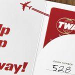 Kľúče v retro dizajne (c)David Mitchell/TWA Hotel