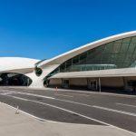 Nadčasový dizaj terminálu TWA na letisku JFK (c)Courtesy Max Touhey/TWA Hotel