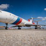 Tupolev TU154M OM-BYO