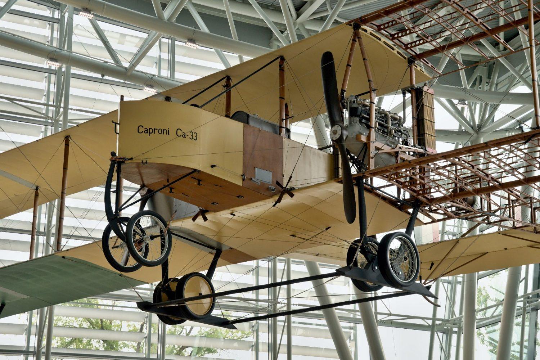 Replika lietadla Caproni