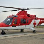 Vrtulník Agusta leteckej záchrannej služby ATE