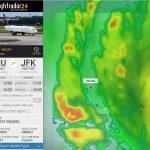 Delta Airlines DL302 (c)FR24.com