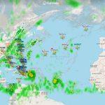 Lety smerujúce do Dominikánskej republiky (c) FR24.com