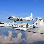 Gulfstream IV (N49RF) a Lockheed WP-3D (N42RF) (c) NOAA