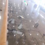 Letisko St.Maarten (SXM) po zásahu hurikánom Irma (c)Twitter