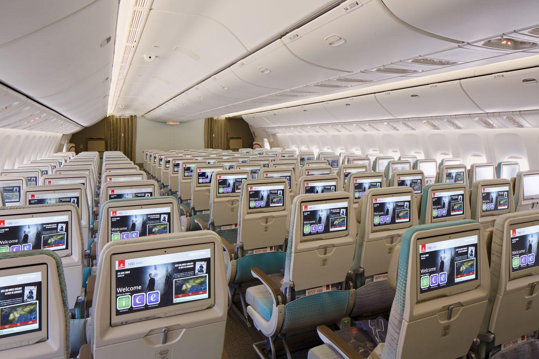 Nová turistická trieda v Boeingu 777-300ER Emirates