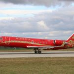 RusLine Bombardier CRJ100 (c)Letište Praha