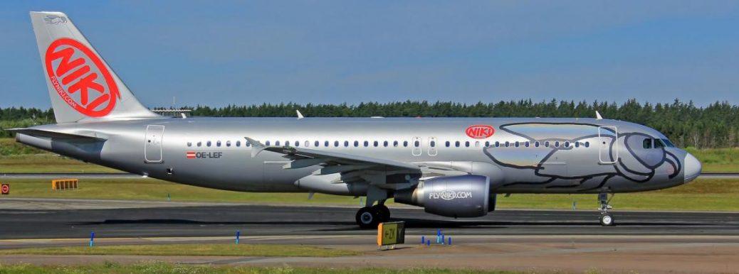 OE-LEF Niki Airbus A320-214