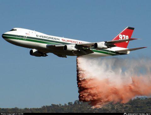 Hasičský špeciál Boeing 747 SuperTanker
