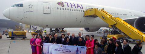Thai Airways vo Viedni