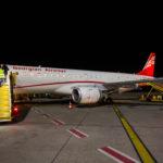 Embraer 190 registrácie 4L-TGH