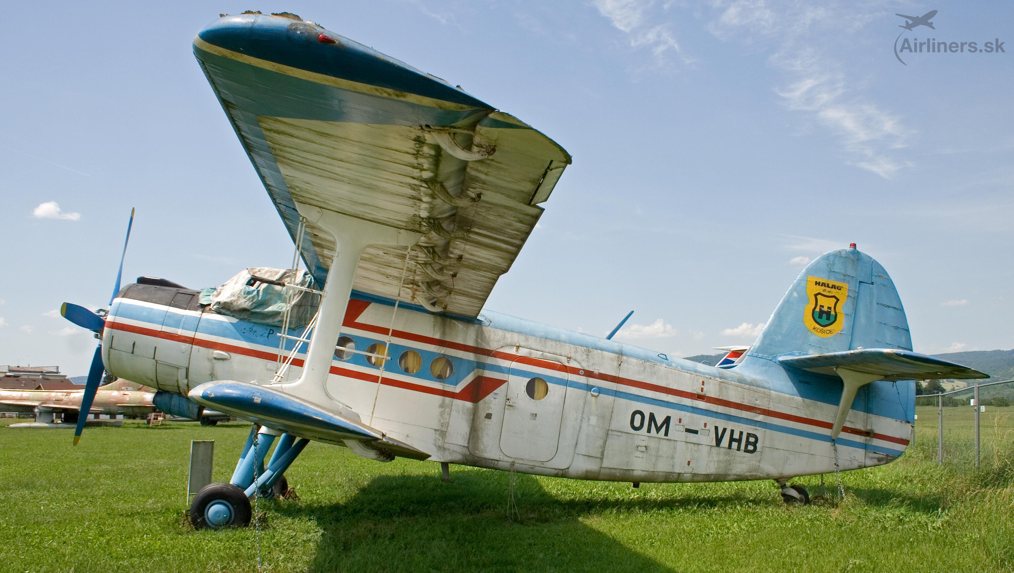 Antonov An-2, OM-VHB