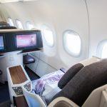 Sedadlá biznis triedy Qatar Airways