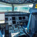 Pilotná kabína Airbus A320 Qatar Airways