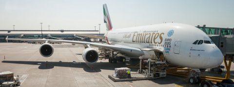 615 ľudí v jednom lietadle – Emirates Airbus A380