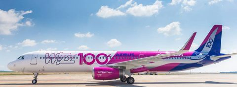 New Wizz Air route from Bratislava to Saint Petersburg.