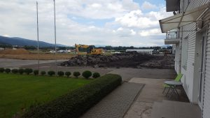 Rekonštrukčné práce na Letisku v Prievidzi